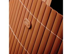 Canisse PVC marron 1x5m