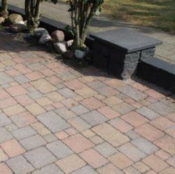 Cobblestones variegated old tumbled 15x15x6cm (m2)