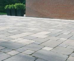 Pflastersteine Koppelstones gekollert grau 15x15x6cm (m2)