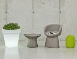Flower pot and garden lighting design ø60cm