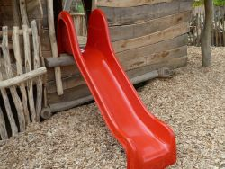 Slide red for playground polyester 190cm