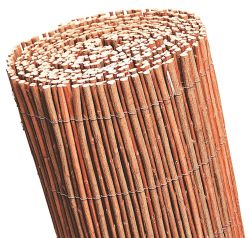 Willow fence rolls red 1x5m
