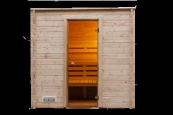 Sauna intérieur 215x215cm / 40mm