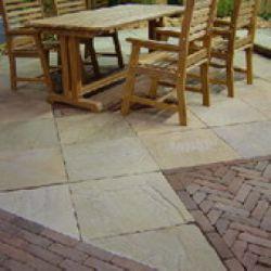 Sandstone tegel 80x80cm terrastegels