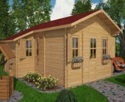 Cabane maison en bois Oxford 6,5x8,8m