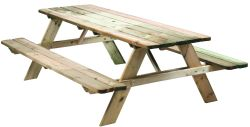 Picnic Table Luxe