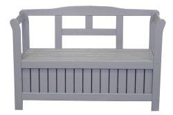 Garden bench Poissy 113x40x75cm