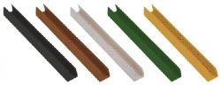 Profil clôture en canisse PVC gris 200cm