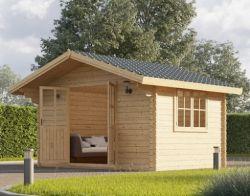 Abri de jardin en bois Redbridge 4x3m