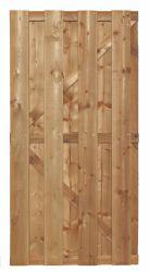 Puerta jardin pino 90x180cm