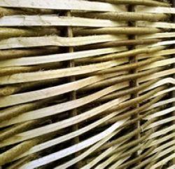 Clôture en coudrier noisetier 180x180cm