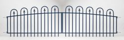 Gate railing Basic 100/112x320cm