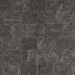 Cobblestones variegated, black.