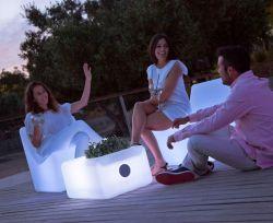 Tuintafel tuinverlichting Ibiza design 45x59x30cm