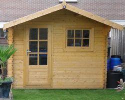 Abri de jardin en bois Sutton 3x2m