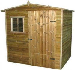 Garden shed impregnated