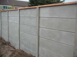 Concrete fence 200x231cm
