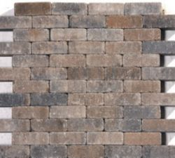 Cobblestones brown/black,tumbled.Price per