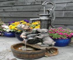 Waterornament fontein 77x38x40cm