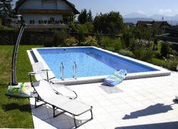 Zwembad inbouwzwembad 700x350cm
