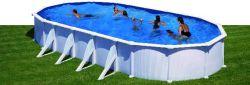 Zwembad stalen wand 730x375cm
