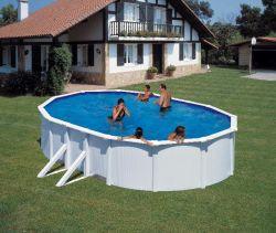 Zwembad stalen wand 500x375cm