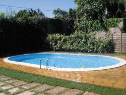 Zwembad inbouwzwembad 600x320cm