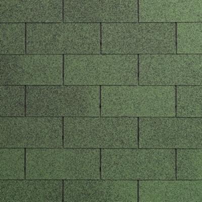 Dakshingles tuinhuisjes blokhutten groen 3m2