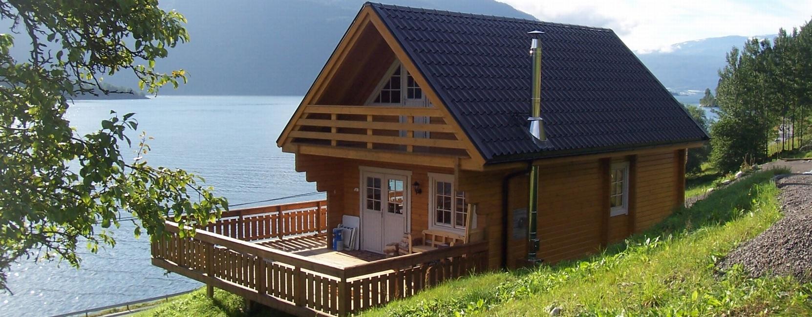 Gartenhäuser - Holzhaus Ferienhäuser Blockhaus Stavanger 5.2x7.8m (94mm)  - Onlineshop Intergard