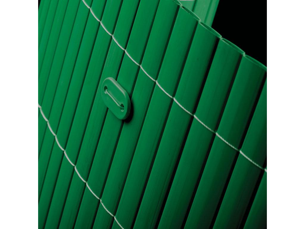 Tuinscherm tuinafscheidingen PVC groen 2x5m