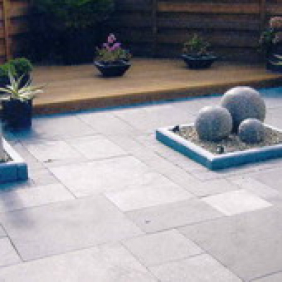 Natuursteen Limestone tegel 40x40cm (m2)