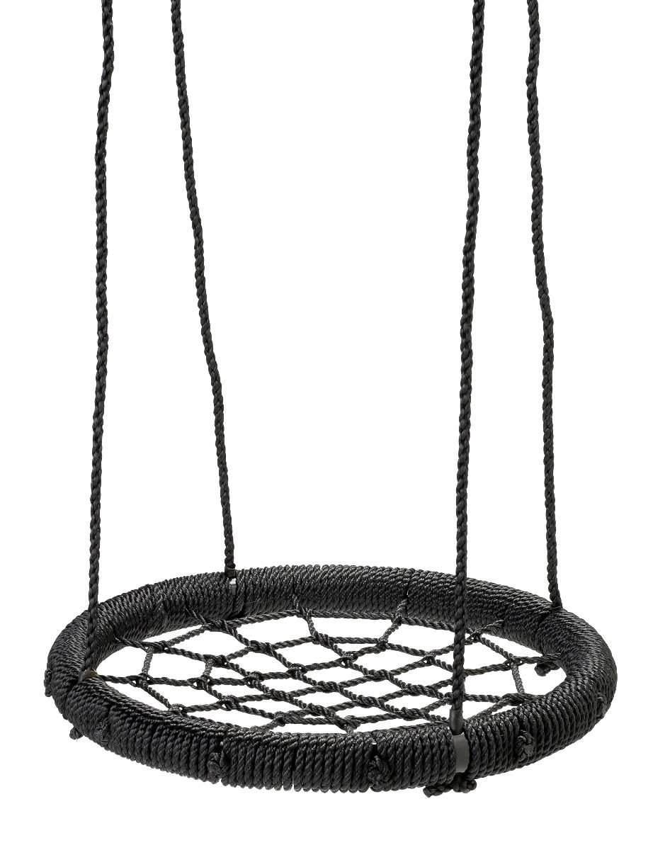 Nestschaukel Holzschaukel Spielgeräte ø95cm