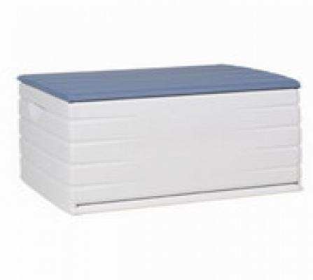Truhen und Auflagen - Kissenbox Ablagebox blau  - Onlineshop Intergard