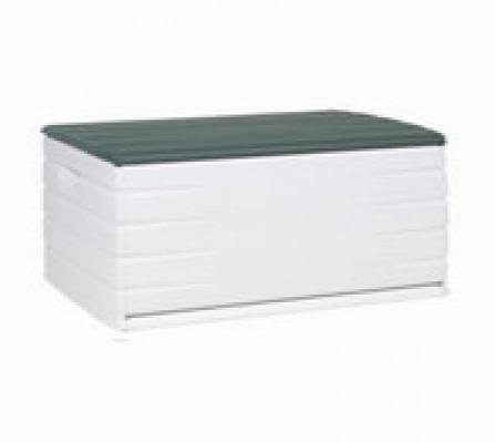 Truhen und Auflagen - Kissenbox Ablagebox grün  - Onlineshop Intergard
