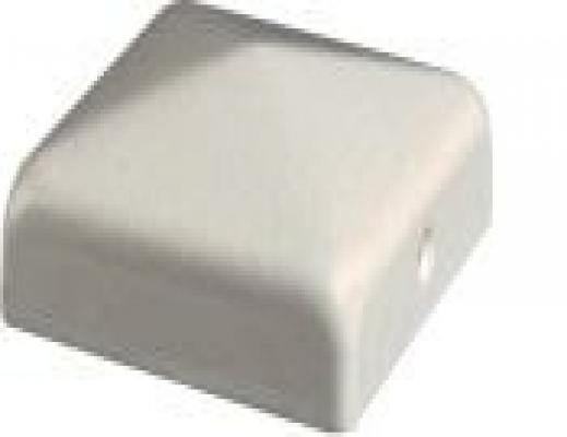 Pfostenkappe Pfostenabdeckung weiss Flach 110mm jetztbilligerkaufen
