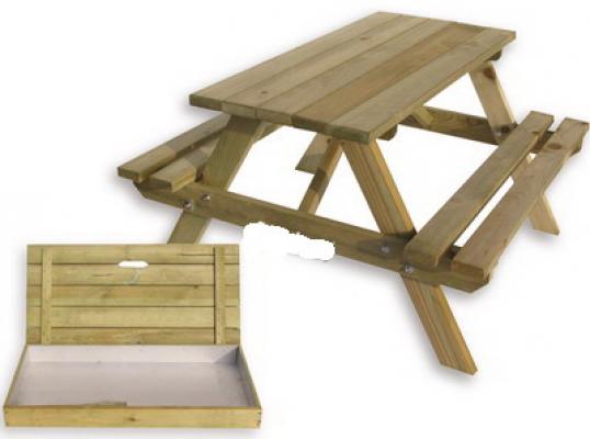 Kinder Picknicktisch