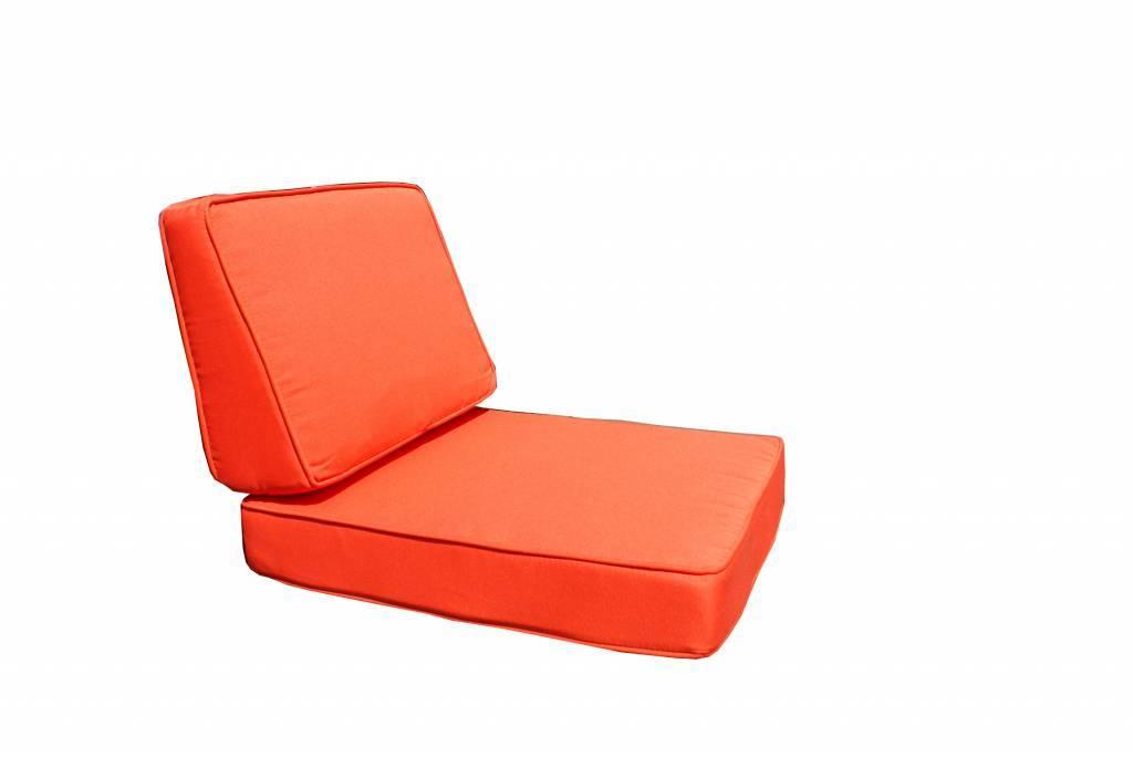 Kussenhoesset voor Parijs loungeset - oranje