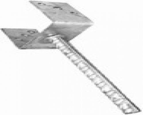 u-pfostentrager-leicht-feuerverzinkt-101mm
