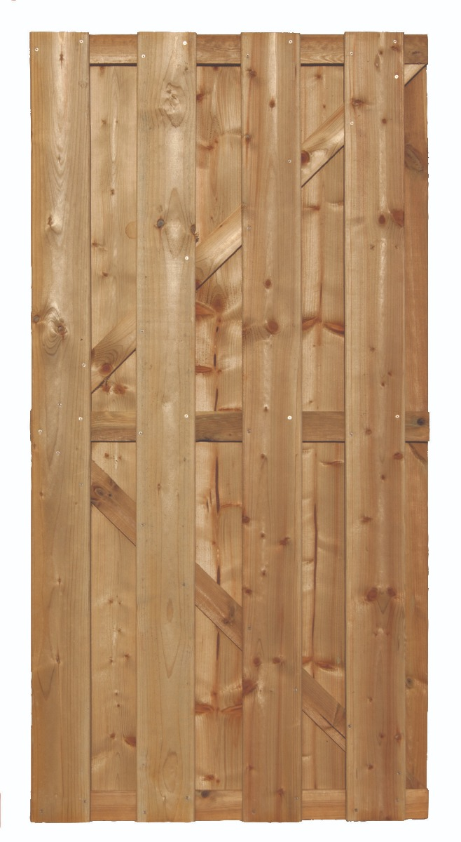 Tuinpoort poort tuindeur grenen 180x90cm