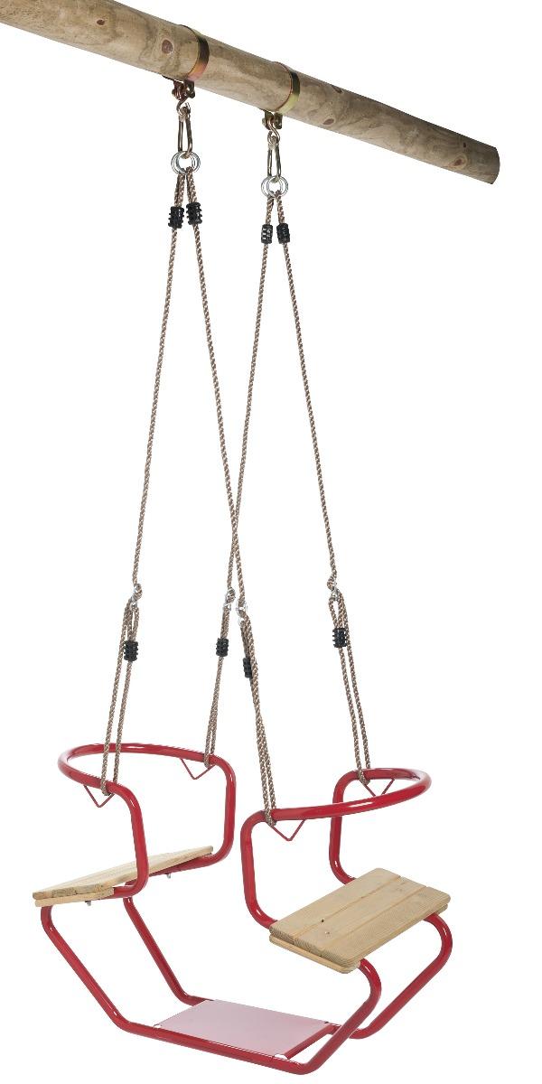 Duo-Schaukel Spielgerät Metal