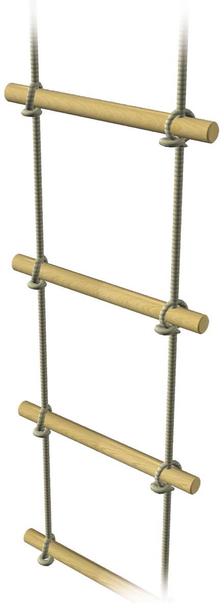 Strickleiter Spielgerät