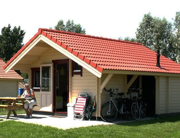 Gartenhäuser - Holzhaus Ferienhäuser Blockhaus Yale 5.72 4.97x6.08m (50mm)  - Onlineshop Intergard