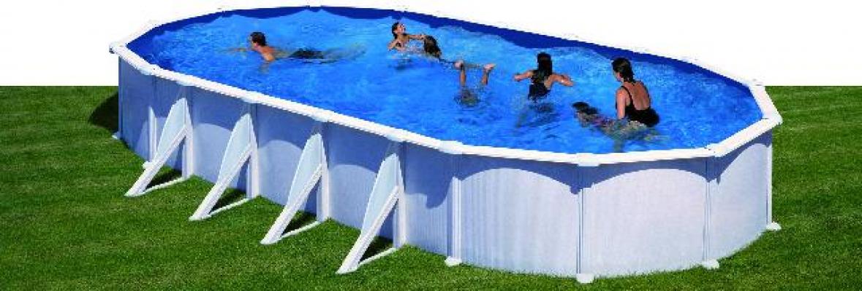 Pools, Schwimmbecken - Stahlwandpool Schwimmbad 1000x550cm  - Onlineshop Intergard