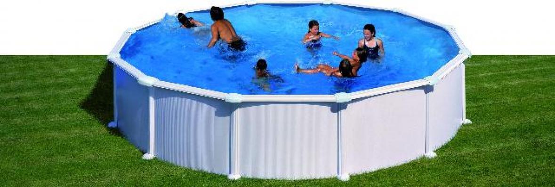 Pools, Schwimmbecken - Stahlwandpool Schwimmbad 460cm  - Onlineshop Intergard