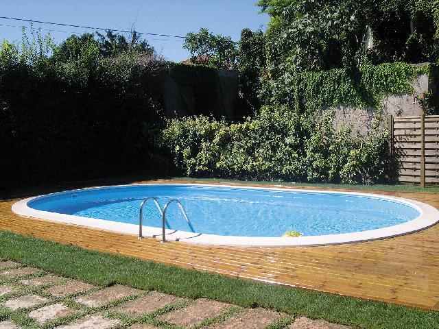 Pools, Schwimmbecken - Einbaupool Schwimmbad 600x320cm  - Onlineshop Intergard